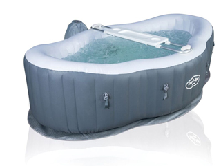 Spa gonflable Bestway LAY-Z-SPA SIENA AIRJET 249 x 149 x 66cm semi-rigide 2 places