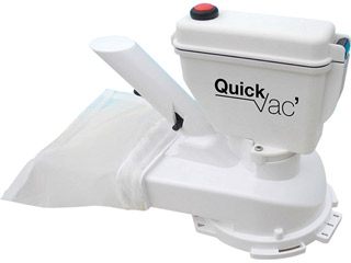 Hexagone - Robot aspirateur de spa HEXAGONE Quick Vac SPA a piles