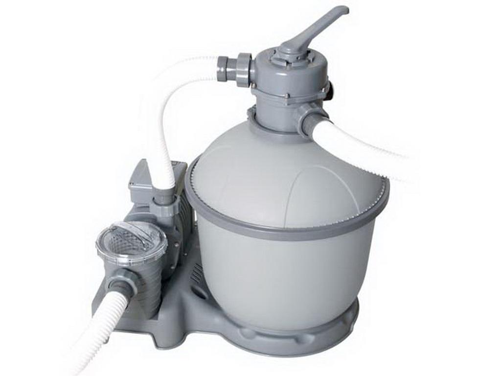 Filtre sable bestway flowclear 7 5l h avec vanne 6 voies - Nettoyage filtre a sable piscine ...