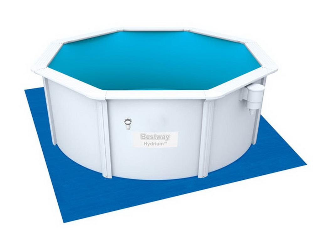Couverture solaire 3 55 m pour piscine hors sol ronde bestway hydrium diam tre 3 66 m sur - Couverture piscine hors sol toulouse ...