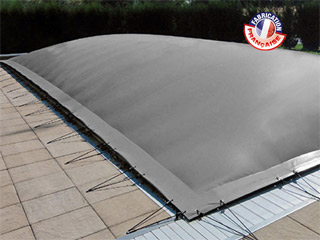 Couverture hivernage gonflable piscine WALU STAR AIR Walter