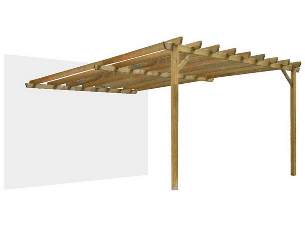 pergola bois durapin jugo grande adoss e sur. Black Bedroom Furniture Sets. Home Design Ideas