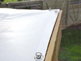 toile pour pergola en bois durapin esterel pin classe 4 dimensions 2 5 x 2 5m sur. Black Bedroom Furniture Sets. Home Design Ideas