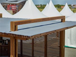 toile pour pergola en bois durapin man a en pin marron 6 x 4 m sur march. Black Bedroom Furniture Sets. Home Design Ideas