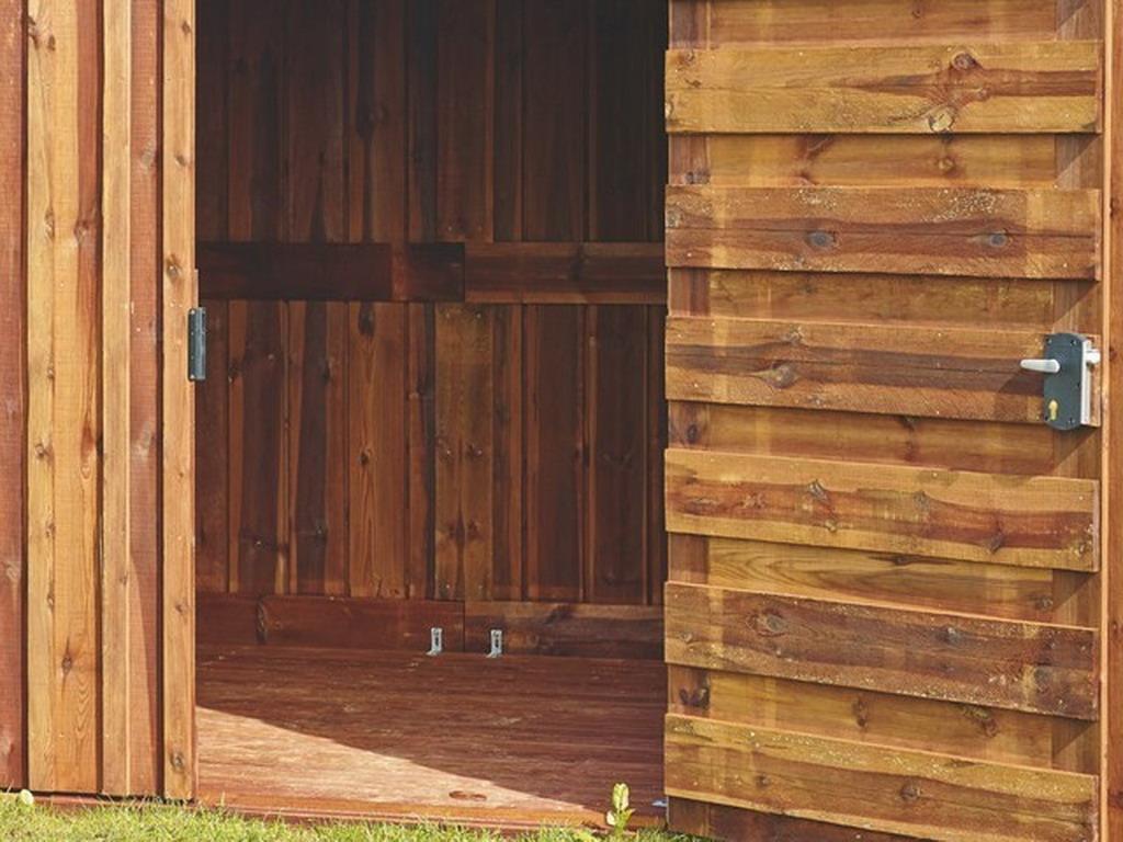 kit plancher pour abri de jardin en bois durapin b lis 2. Black Bedroom Furniture Sets. Home Design Ideas