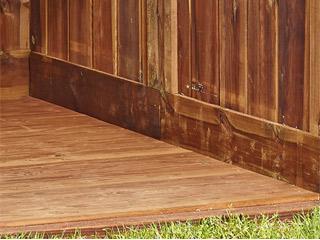 kit plancher pour abri de jardin en bois durapin marsant 4 4m marron sur march. Black Bedroom Furniture Sets. Home Design Ideas