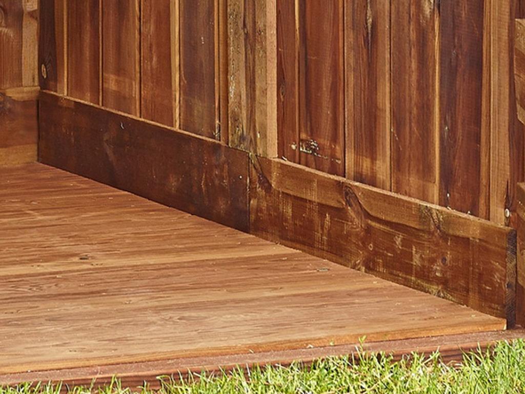 kit plancher pour abri de jardin en bois tignes 9m marron. Black Bedroom Furniture Sets. Home Design Ideas