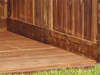 kit plancher pour abri de jardin en bois durapin marius. Black Bedroom Furniture Sets. Home Design Ideas