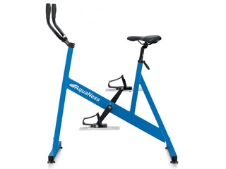 AquaNess - Velo d'aquabike AquaNess piscine V1 bleu