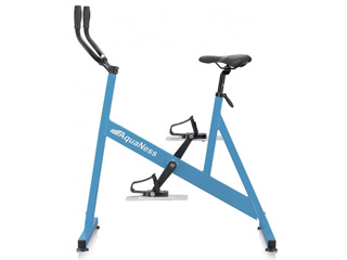 AquaNess - Velo d'aquabike AquaNess piscine V1 bleu clair