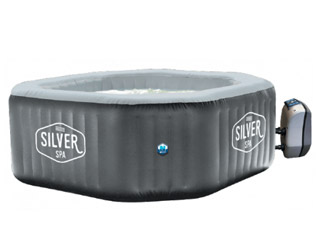 NetSpa - Spa gonflable NetSpa SILVER octogonal 195 x 195 x 70cm 5/6 places