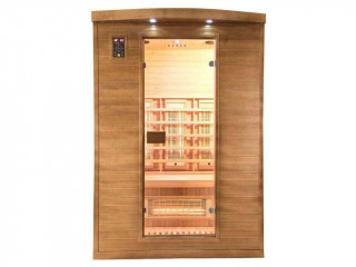 France Sauna - Sauna infrarouge cabine 2 places SPECTRA 2 puissance 1980W