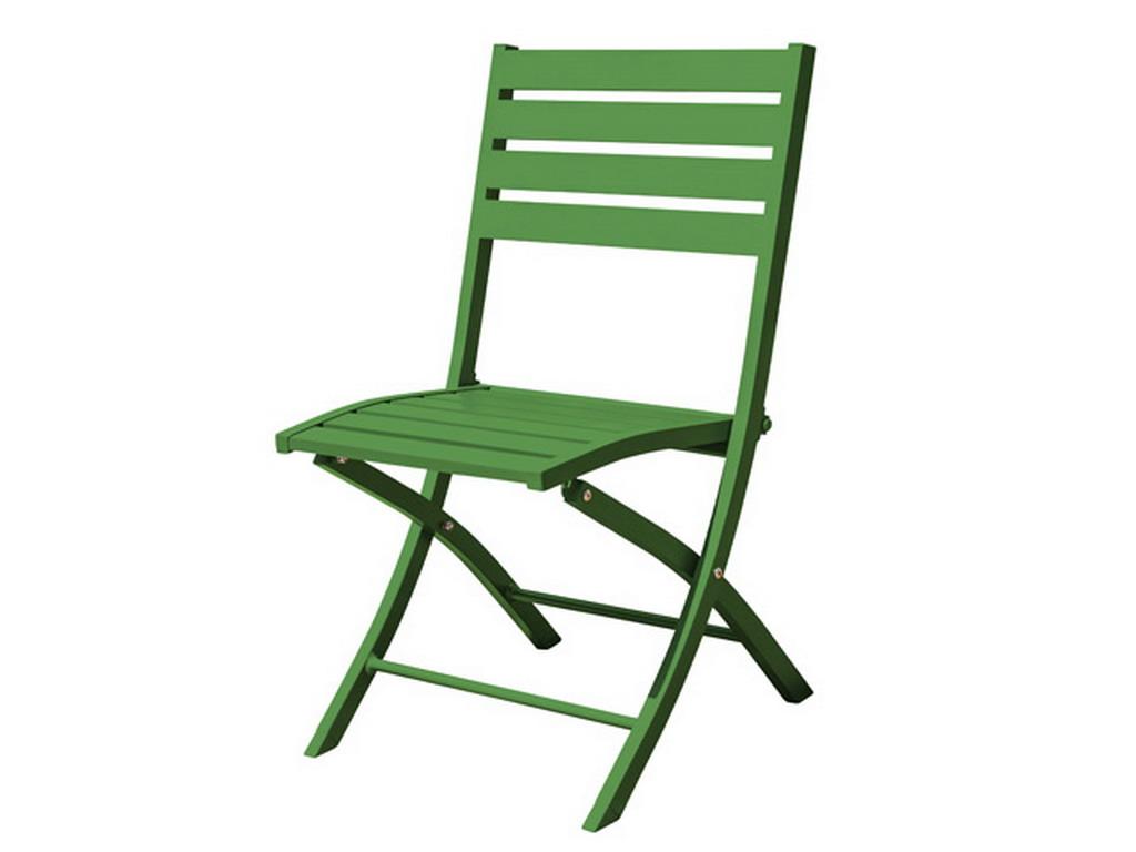 Chaise Pliante MARIUS En Aluminium 8 Couleurs Au Choix Sur
