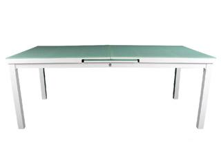 Achat table de jardin alu et acier - matériel piscine ...