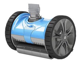 robot piscine hors sol hydraulique lil rebel pentair sur march. Black Bedroom Furniture Sets. Home Design Ideas