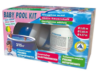 Traitement piscine oxyg ne actif baby pool kit sur for Traitement piscine oxygene actif