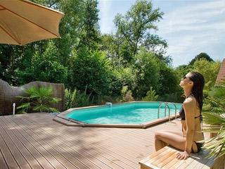 kit piscine enterr e azteck ovale sur march. Black Bedroom Furniture Sets. Home Design Ideas