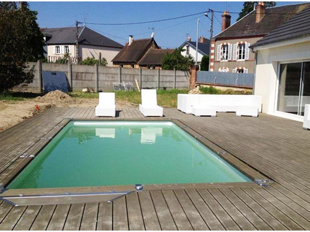 kit piscine enterr e azteck rectangulaire x sur march. Black Bedroom Furniture Sets. Home Design Ideas