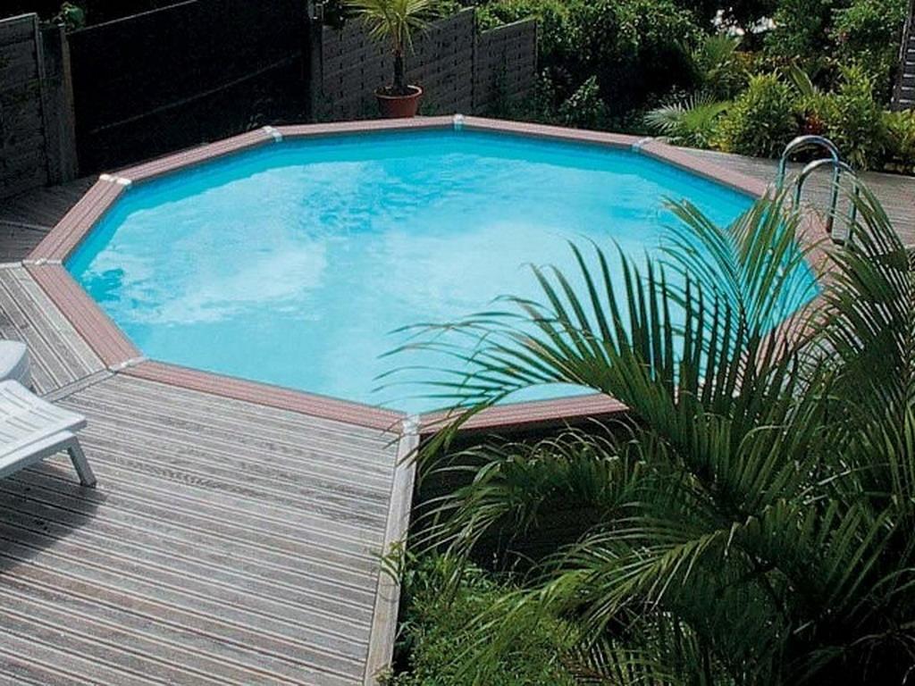 kit piscine enterr e azteck ronde sur march. Black Bedroom Furniture Sets. Home Design Ideas