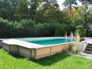 Kit piscine semi-enterrée AZTECK rectangulaire sur MarchédelaPiscine.com