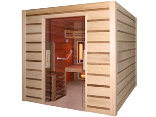 Sauna a vapeur et infrarouge COMBI ACCESS 4 places
