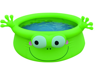 Jilong - Piscine enfant gonflable grenouille 175 X H62cm