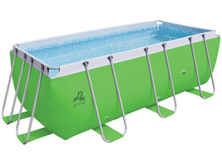 Kit piscine tubulaire Jilong PASSAAT Verte 400x200x99cm
