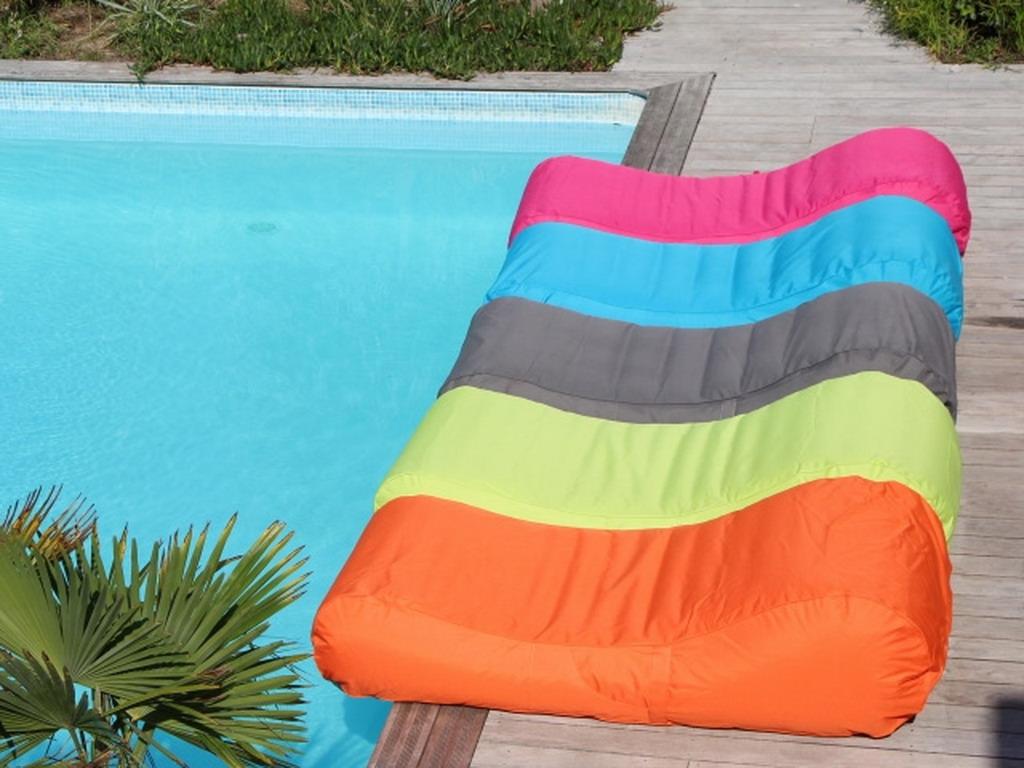 Sunvibes WAVE pour couleurs Housse au choix 5 chaise piscine longue b9H2WYeEDI