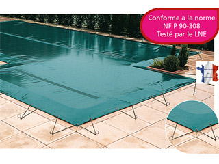Walter - Couverture d'hivernage opaque piscine WALU SAND Walter
