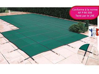 Walter - Couverture hivernage filtrante piscine WALU SAFE LUXE Walter