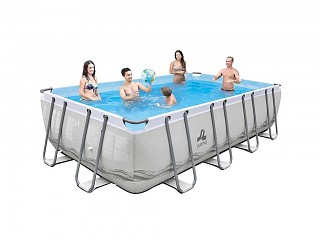 Piscine autoportante Jilong MISTRAL rectangulaire 549x305x122cm filtration cartouche