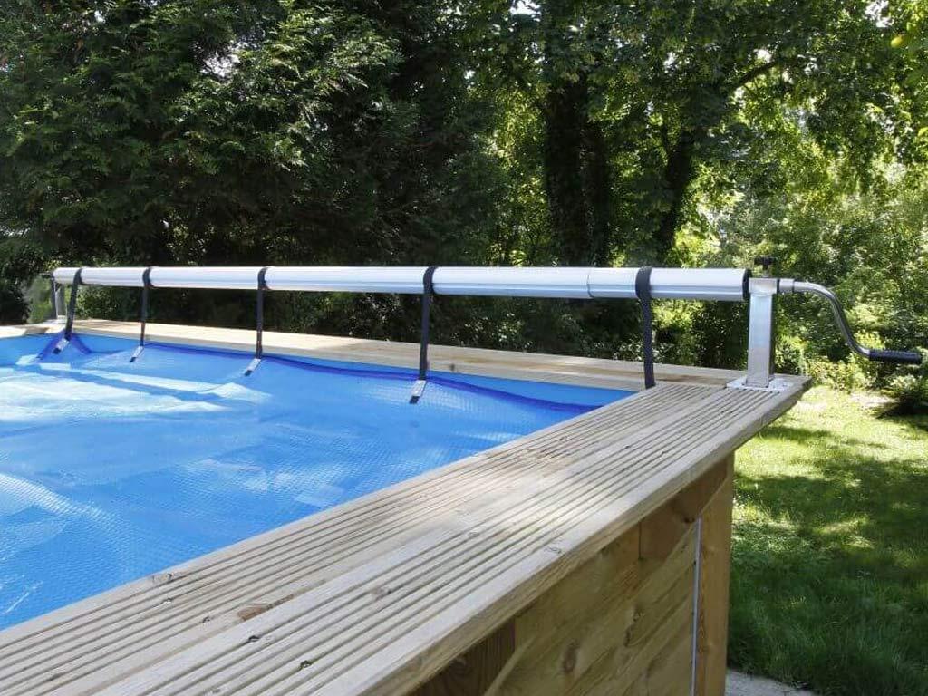 Enrouleur bâche à bulles Ubbink PREMIUM piscine hors-sol