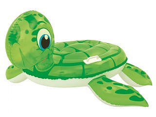 Bestway - Bouee gonflable piscine Bestway chevauchable tortue 140x140cm