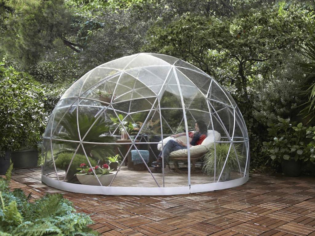d me de protection piscine et spa sunny igloo 360x220cm. Black Bedroom Furniture Sets. Home Design Ideas