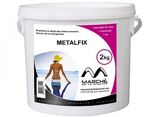Sequestrant metaux piscine METALFIX Marchedelapiscine pot 2kg