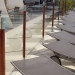 Barrière piscine bois et PVC