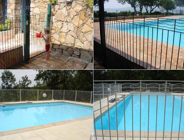 barri re de s curit et de protection aquaclo pour piscine norme nfp90 306 sur march. Black Bedroom Furniture Sets. Home Design Ideas