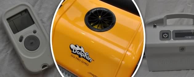 Robot piscine electrique Dolphin 2x2 PRO GYRO brosses combinees - Présentation du Dolphin 2X2 GYRO PRO