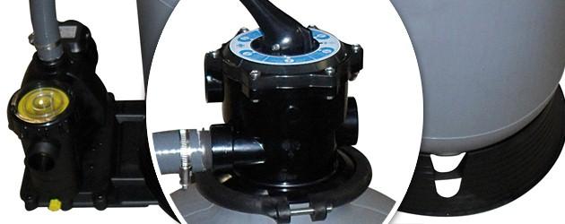 Groupe de filtration MAGIC 400 EH 6m³/h mono 0.25kw - Groupe de filtration MAGIC 400 EH puissance et efficacité