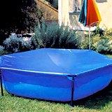 Piscine hors-sol enfant Gre JETPOOL carree 1.90 x 1.90 x 0.45m - Kit piscine spécifique aux enfants Gré JETPOOL