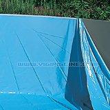 Kit piscine hors-sol acier Toi MOSAICO ovale 9.15 x 4.57 x 1.2m decor mosaique - Kit piscine complet