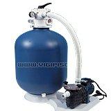 Kit piscine hors-sol acier resine FLAMENCO Luxe ronde 4.60m x 1.32m - Kit piscine complet