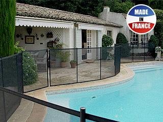 Barri re piscine d montable beethoven advantage 16mm for Piscine demontable
