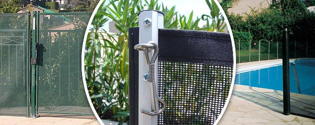 Barriere piscine demontable Beethoven ADVANTAGE LUXE Ø16mm norme NF P90-306 - La clôture de piscine démontable Beethoven ADVANTAGE LUXE