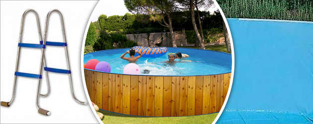 Kit piscine hors-sol acier Toi VETA ronde Ø4.50 x 0.90m decor bois - Avantages des piscines Toi VETA