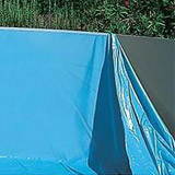 Kit piscine hors-sol acier Toi VETA ronde Ø4.50 x 0.90m decor bois - Kit piscine complet Toi