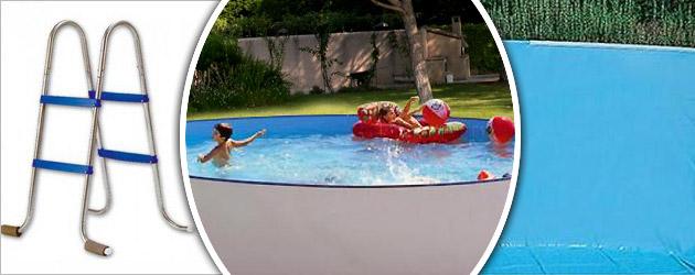 Kit piscine hors-sol acier Toi PROMO CIRCULAR ronde Ø3.50 x 0.90m laque blanc - Avantages des piscines Toi PROMO CIRCULAR