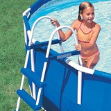 Kit piscine hors-sol autoportante Intex EASY SET ronde Ø457 x 107cm avec filtration debit 3.8m3/h - Kit piscine complet Intex