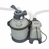 Kit piscine tubulaire Intex ULTRA SILVER rectangulaire 732 x 366 x 132cm filtration sable - Intex ULTRA SILVER Une piscine de qualité pour une baignade sans souci