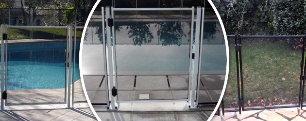 Barriere piscine demontable Beethoven ADVANTAGE Ø16mm norme NF P90-306 - Portillon automatique Beethoven Facilter les accès tout en respectant la sécurité
